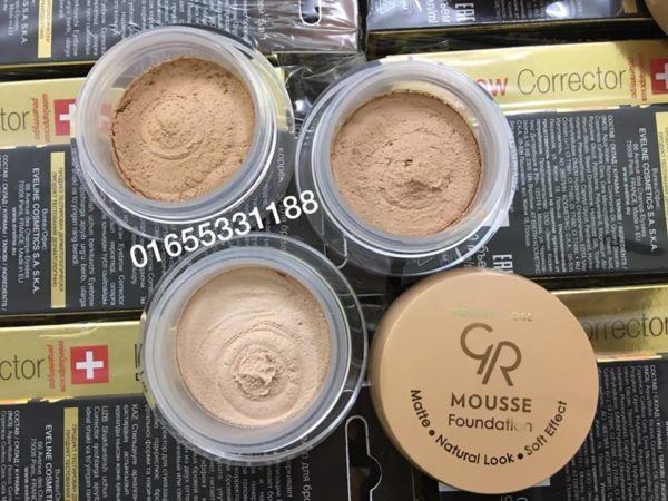 Phấn mousse Golden Rose