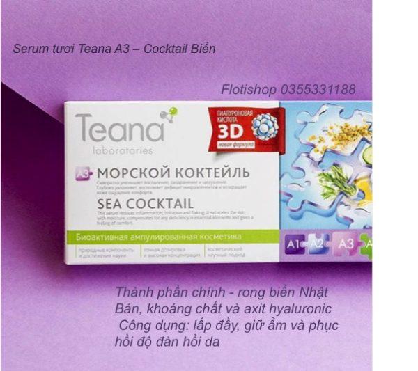 Serum cocktail biển Teana A3